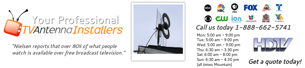 TV Antenna Installations