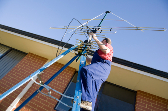 Digital TV antenna installations in Atlanta