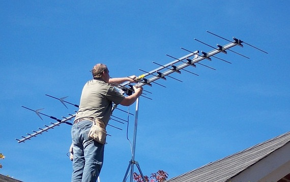 Digital TV antenna installations in Augusta